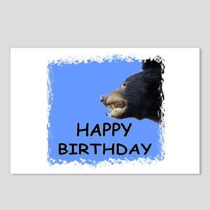 HAPPY BIRTHDAY BEAR Postcards (Package of 8)