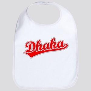 Retro Dhaka (Red) Bib