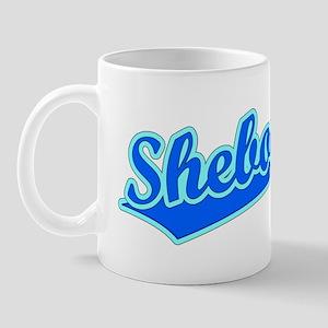 Retro Sheboygan (Blue) Mug