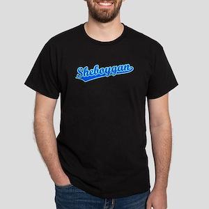 Retro Sheboygan (Blue) Dark T-Shirt