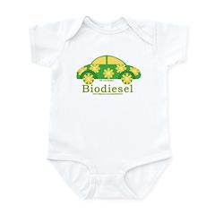 Cute Biodiesel Car Infant Bodysuit