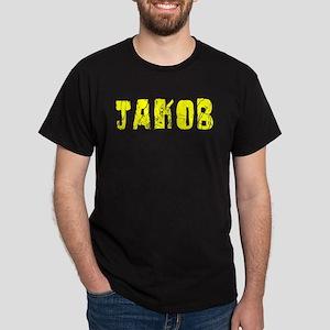 Jakob Faded (Gold) Dark T-Shirt