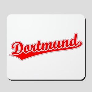 Retro Dortmund (Red) Mousepad
