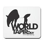 """""""World Tapir Day"""" mousepad"""