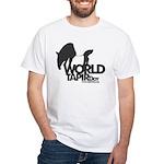 White T-Shirt: 'World Tapir Day'