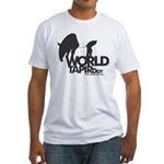 Fitted T-Shirt: 'World Tapir Day'