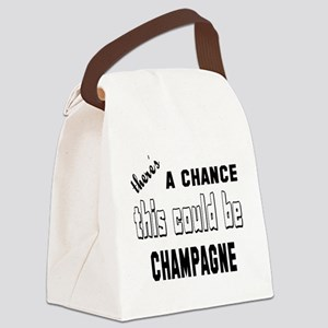 There's a chance this could be Ch Canvas Lunch Bag