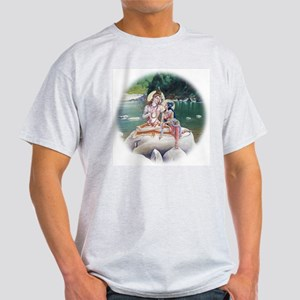 Shiva & Parvati Ash Grey T-Shirt