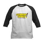 Cheese Jerky Kids Baseball Jersey