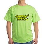 Cheese Jerky Green T-Shirt