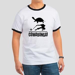 Cowabunga Ringer T