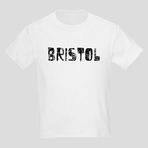 Bristol Faded (Black) Kids Light T-Shirt