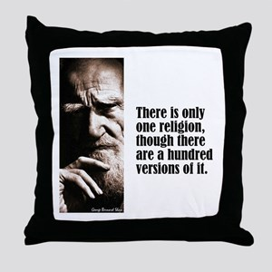 """Shaw """"Only One"""" Throw Pillow"""