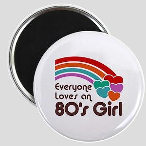 80's Girl Magnet