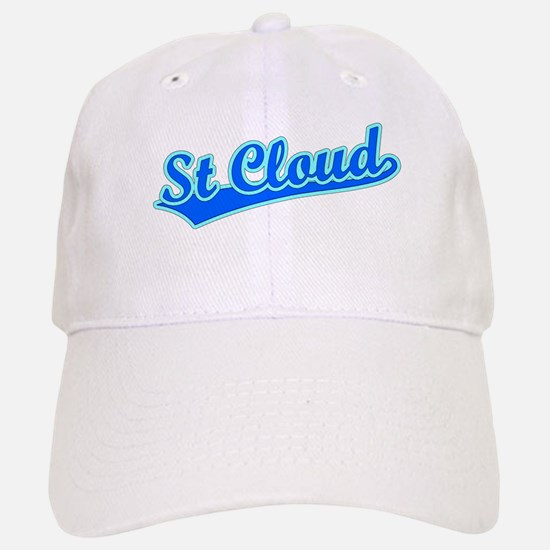 Retro St Cloud (Blue) Baseball Baseball Cap