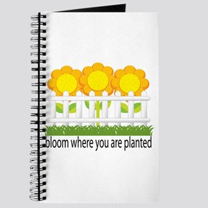 Garden Blooms Journal