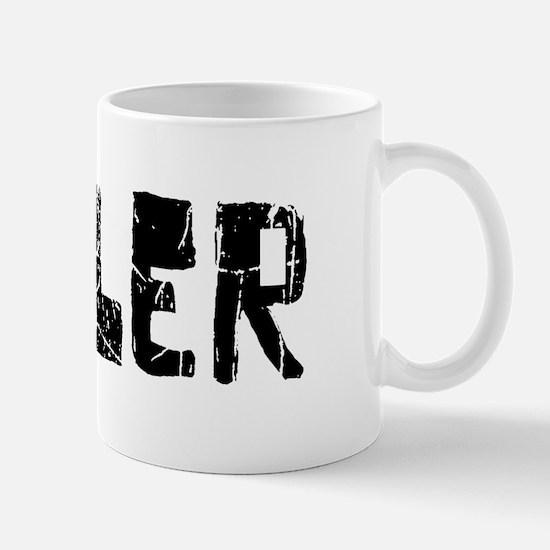 Butler Faded (Black) Mug