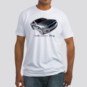 """""""make mine a 'stang"""" Fitted T-Shirt"""