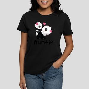 Aunt Panda Bear Women's Light T-Shirt
