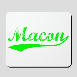 Vintage Macon (Green) Mousepad