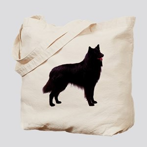 Black Belgian Shepherd Tote Bag