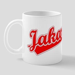 Retro Jakarta (Red) Mug