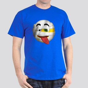 Goofy Mummy Licking Face Dark T-Shirt