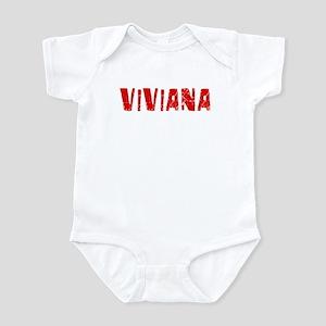 Viviana Faded (Red) Infant Bodysuit