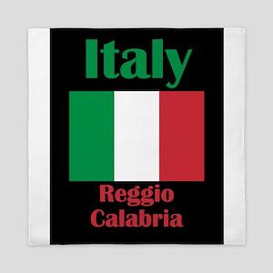 Reggio Calabria Italy Queen Duvet