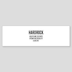 Hard Rock Helps me escape from th Sticker (Bumper)