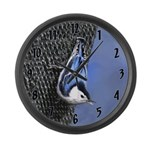 Nuthatch Large Wall Clock