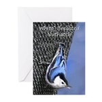 Nuthatch Greeting Cards (Pk of 20)