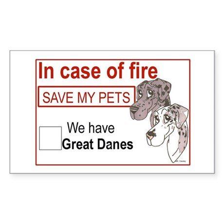 NMrlMlqn Fire Rescue Rectangle Sticker