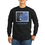 Nuthatch Long Sleeve Dark T-Shirt