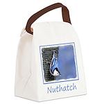 Nuthatch Canvas Lunch Bag