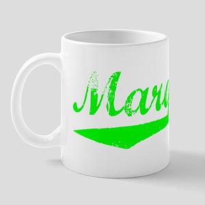 Vintage Marquette (Green) Mug