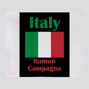 Ramon Campagna Italy Throw Blanket