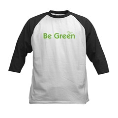 Be Green Kids Baseball Jersey