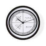 3rd Pentacle of Jupiter Protection Wall Clock