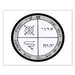 3rd Pentacle of Jupiter Protection Small Poster