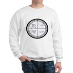 3rd Pentacle of Jupiter Protection Sweatshirt