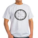 3rd Pentacle of Jupiter Protection Light T-Shirt