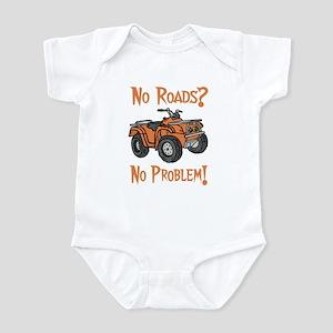 No Roads No Problem ATV Infant Bodysuit
