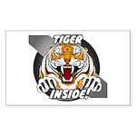 Tiger Inside Sticker!