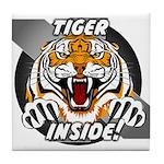 Tiger Inside Coaster