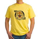 Tiger Inside Yellow T-Shirt