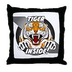 Tiger Inside Throw Pillow