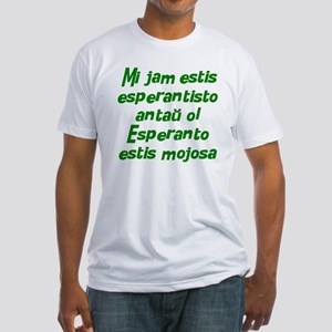 Esperanto is Cool Fitted T-Shirt
