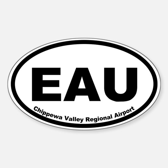 Chippewa Valley Regional Airport Oval Decal