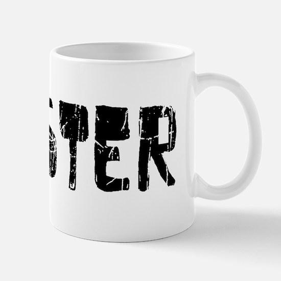 Chester Faded (Black) Mug